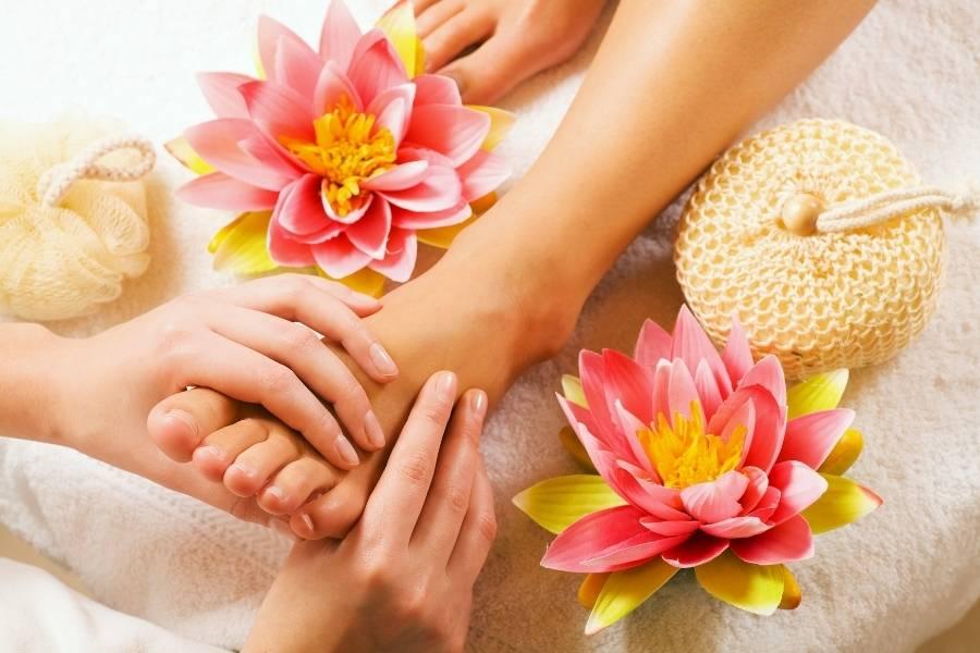 Chillout Zone Fussreflexzonen Massage