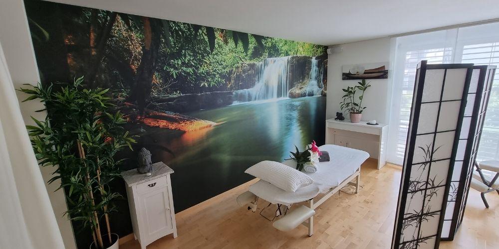Räumlichkeiten Chillout Zone medizinische Massagepraxis